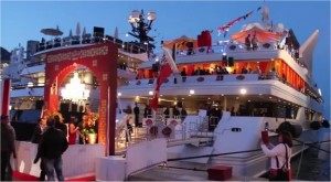 Monaco Grand Prix hospitality yacht party